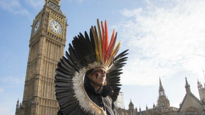 Oito passeios de índio emLondres
