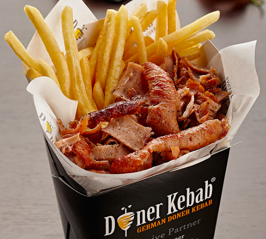 Reprodução Doner Kebab