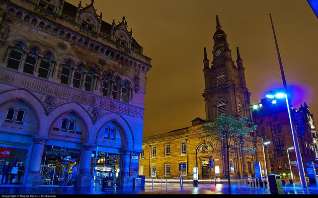 Glasgow, foto por Moyan Brenn