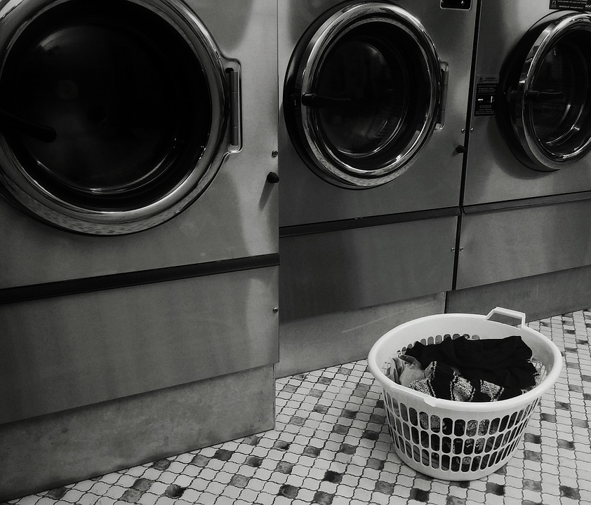 O luxo de ter uma máquina de lavar roupas emLondres