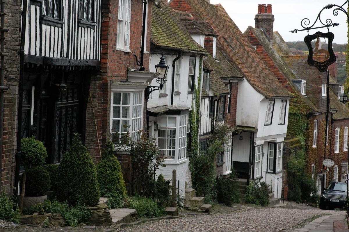 Rye, uma das cidades medievais mais bem preservadas daInglaterra